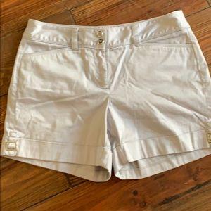 WHBM gray shorts 4